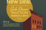 Go to The New Deal: 37th Annual Gala Dinner and Art Auction