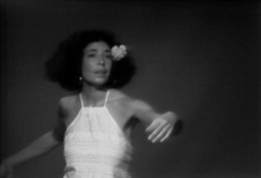 Untitled performance by Deborah Hay (1977), screenshot.