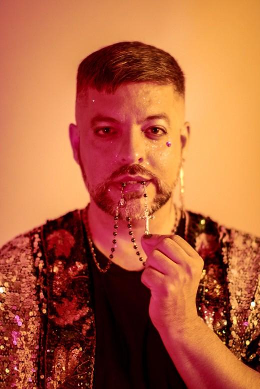 Miguel Gutierrez. Photo by Marley Trigg Stewart.